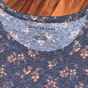American Eagle Outfitters Tops - 🌸Floral Relaxed Tank🌸